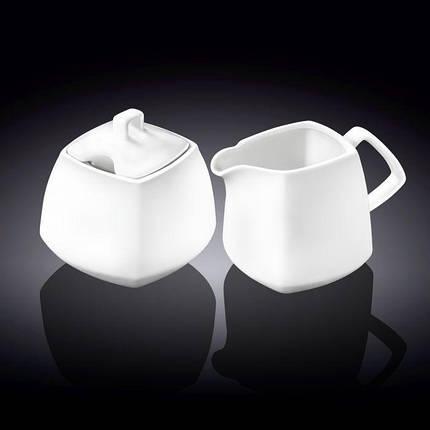 Wilmax сахарница 340мл + молочник 310мл 2пр., фото 2