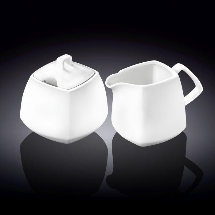 Wilmax сахарница 340мл + молочник 310мл 2пр.