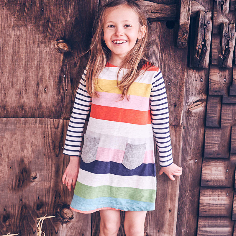 Платье для девочки Полоска Little Maven