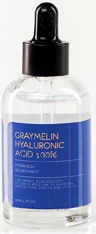 Акція -30% Ампульная сыворотка Graymelin Hyaluronic Acid 100% с гиалуроновой кислотой  - 50 мл