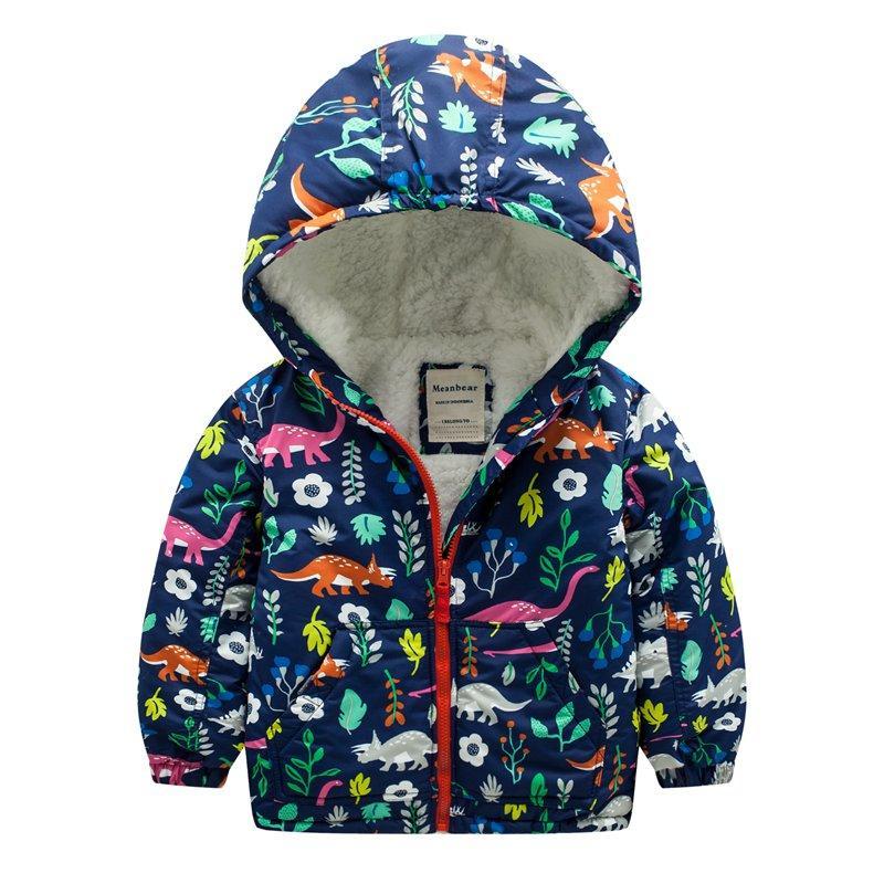 Куртка для девочки Дино Meanbear