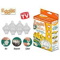 Форма для варки яиц Eggies без скорлупы (Эггиз)