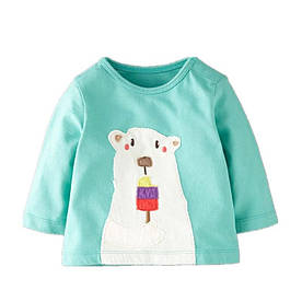 Детская кофта Белый медведь Jumping Meters