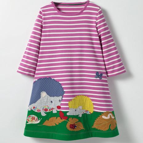 Платье для девочки Лесные друзья Jumping Meters