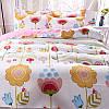 Комплект постельного белья Цветы (полуторный) Berni, фото 7