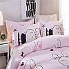 Комплект постельного белья Любовь кролика (двуспальный-евро) Berni, фото 6