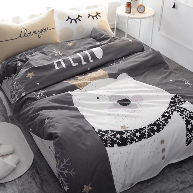 Комплект постельного белья Полярный король (полуторный) Berni