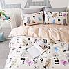 Комплект постельного белья Нежные птицы (двуспальный-евро) Berni, фото 4