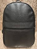 Высококачественный рюкзак кожи TOMMY HILFIGER модный стиль для мужчин и женщин городской Только оптом, фото 3