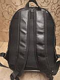Высококачественный рюкзак кожи TOMMY HILFIGER модный стиль для мужчин и женщин городской Только оптом, фото 7