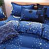 Комплект постельного белья Ночной город (двуспальный-евро) Berni, фото 7