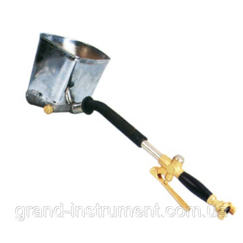 Распылитель пневматический для нанесения штукатурки на стену металлический ковш AIRKRAFT SN-01