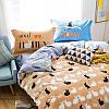 Комплект постельного белья Кролики (двуспальный-евро) Berni, фото 8