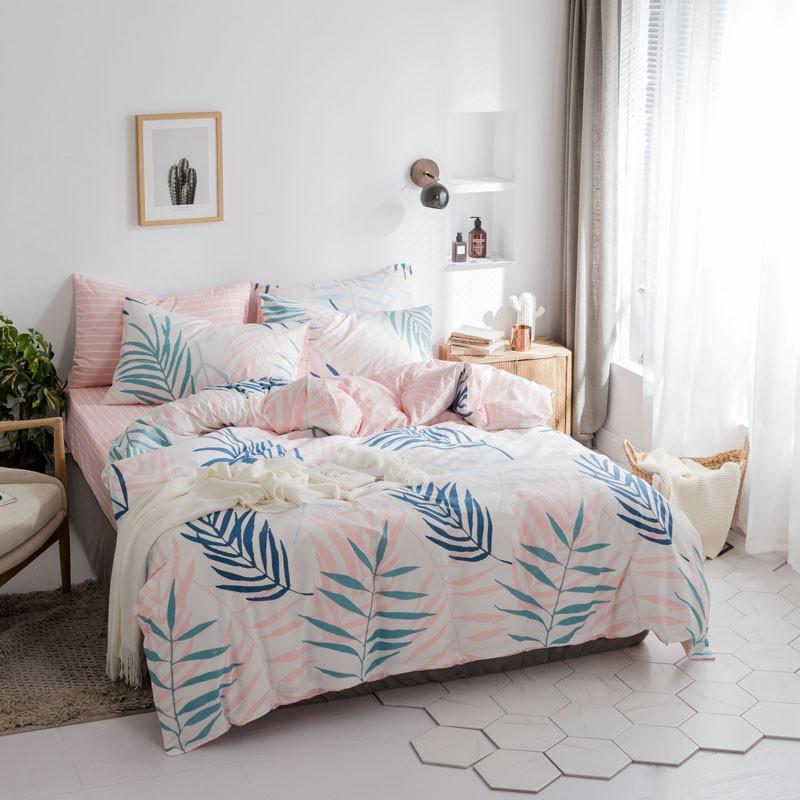 Комплект постельного белья Листья папоротника (полуторный) Berni