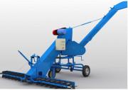 Зернометатель – ЗМСН-100-21М (увеличенные питатели до 5.2 м.) скребковый