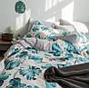 Комплект постельного белья Цветущая монстера (двуспальный-евро) Berni, фото 4