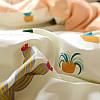 Комплект постельного белья Кактусы (двуспальный-евро) Berni, фото 3