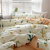 Комплект постельного белья Кактусы (двуспальный-евро) Berni, фото 4