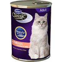 Консервы для кошек Butcher's Cat Pro, семга, 400г