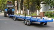 Тележка садовая для транспортировки контейнеров ТТК-3