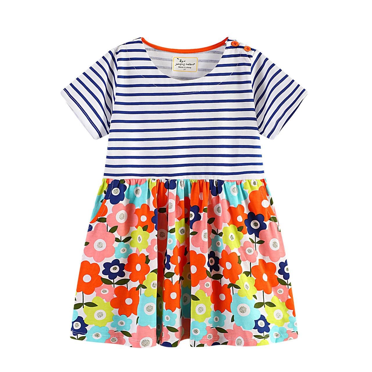 Платье для девочки Цветочный сад Jumping Meters