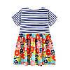 Платье для девочки Цветочный сад Jumping Meters, фото 7
