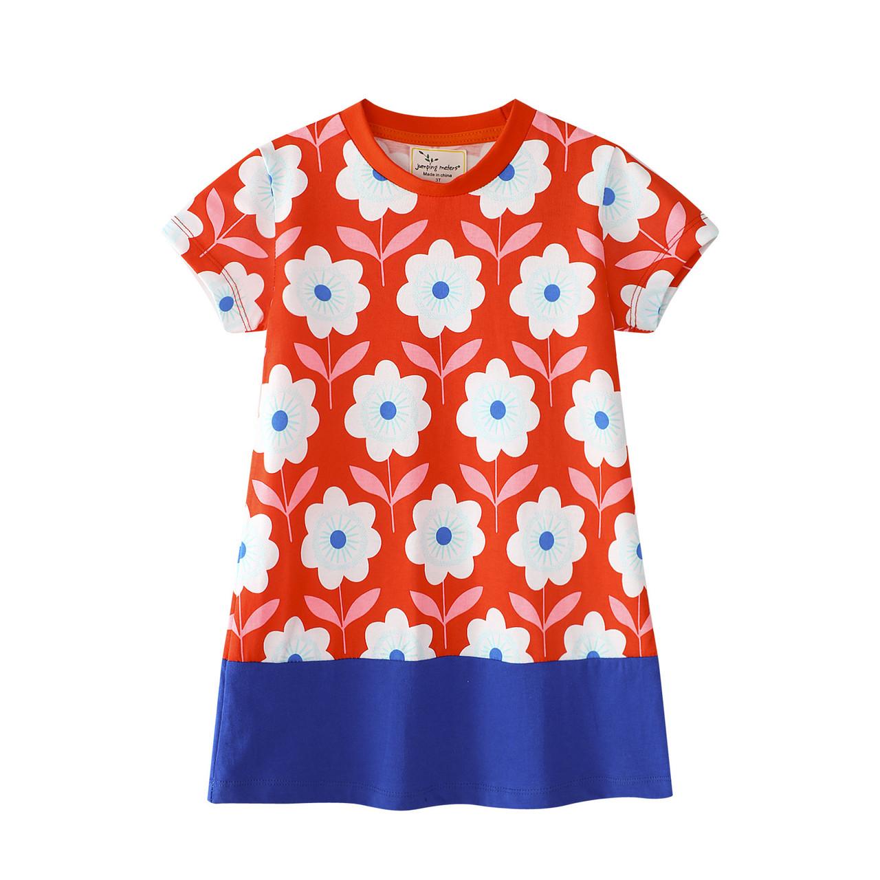 Платье для девочки Ромашки Jumping Meters