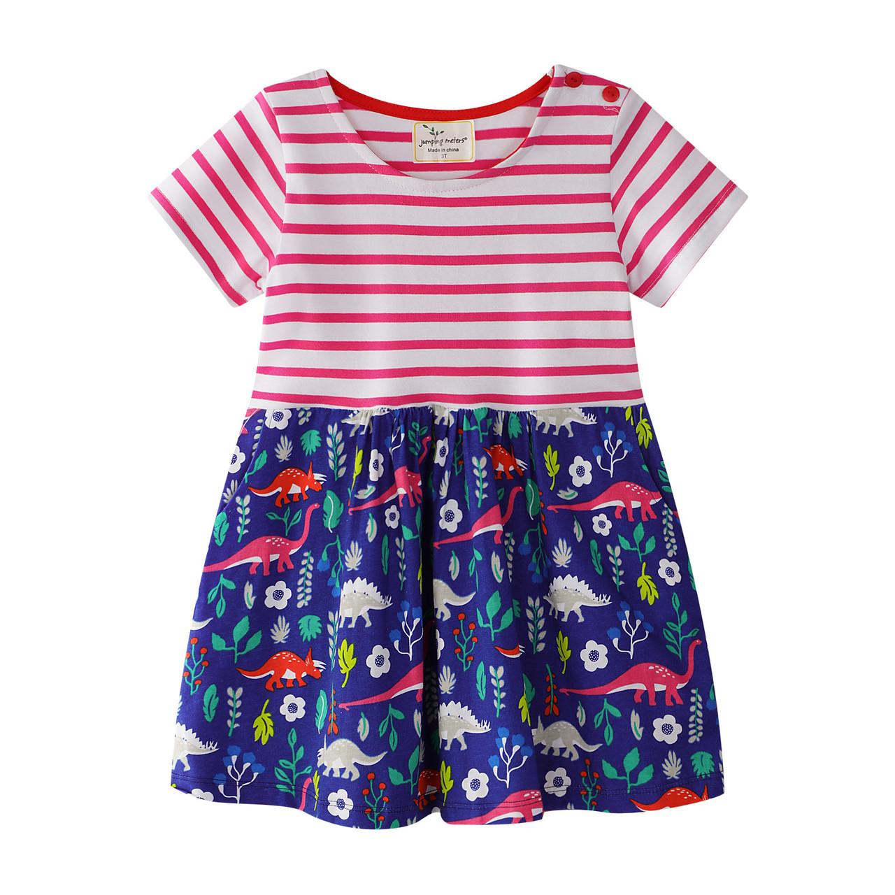 Платье для девочки Юрский парк Jumping Meters