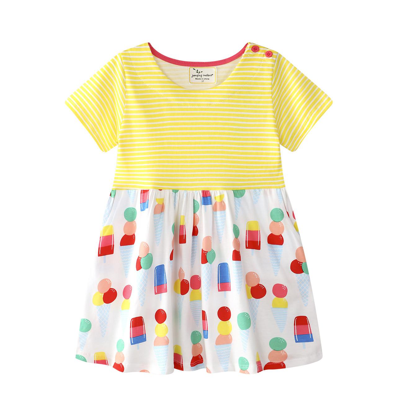 Платье для девочки Мороженое Jumping Meters