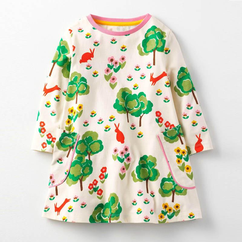 Платье для девочки Поляна Jumping Meters