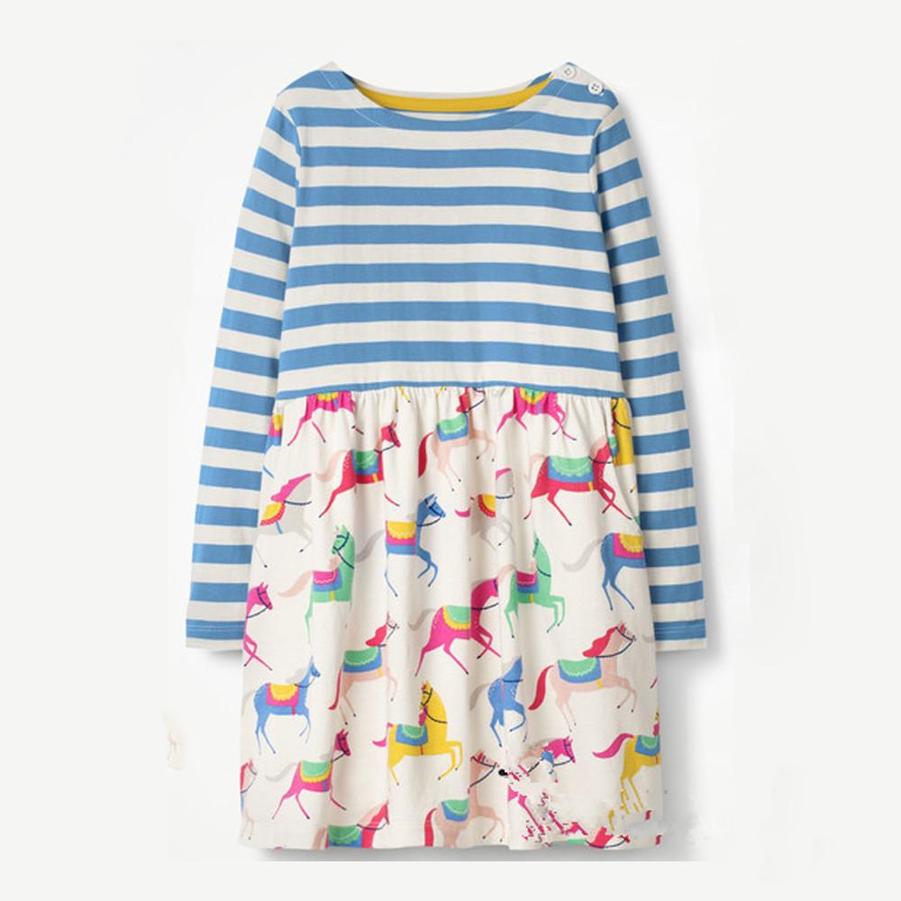 Платье для девочки Лошадки Jumping Meters