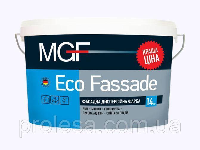 Фасадная дисперсионная краска MGF Eco Fassade M-690 (14кг)