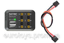 Разветвитель питания SkyRC SK-600114-03 с USB (XT60)