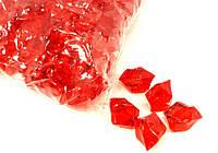 Камешки-кристаллы Лед 400г красный