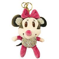 Брелок Mikki Mouse со стразами