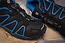 Кроссовки мужские  Salomon Speedcross 4, черные (14961) размеры в наличии ► [  42 (последняя пара)  ], фото 6