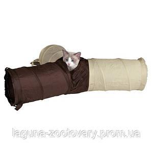 """Тоннель 50х22см х 3 тройной """"шуршащий""""  для кошек и маленьких собак"""