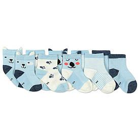 Детские антискользящие носки Пес (5 пар) Berni