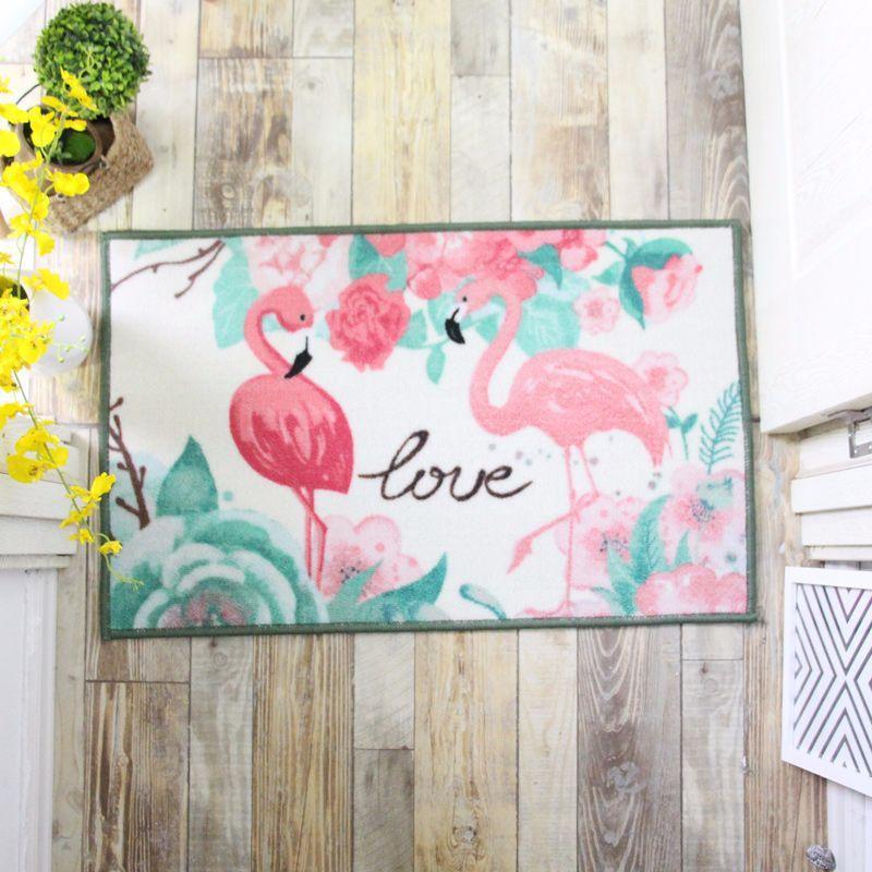 Коврик Любовь фламинго 50 х 80 см Berni