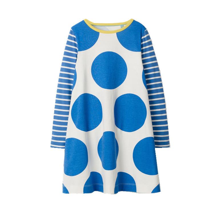 Платье для девочки Большой горошек Jumping Meters