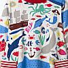Платье для девочки Морские животные Jumping Meters, фото 2