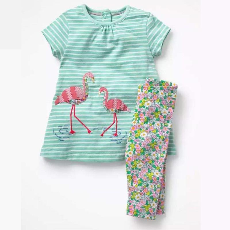 Комплект 2 в 1 для девочки Фламинго Jumping Beans