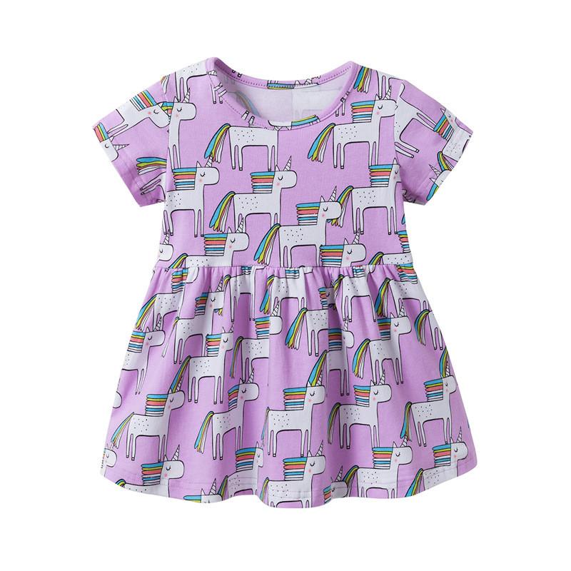 Платье для девочки Единороги Jumping Meters