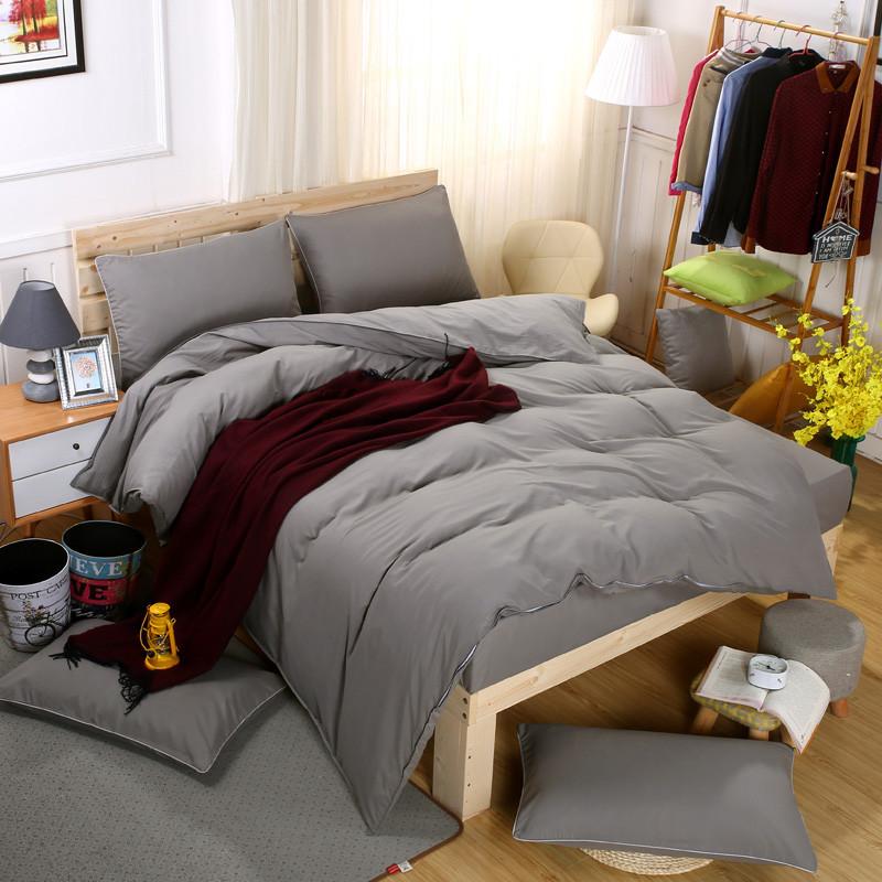 Комплект постельного белья Серый (полуторный) Berni
