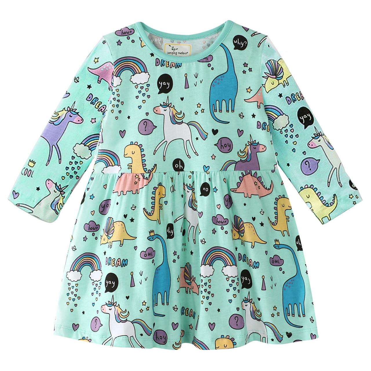 Платье для девочки Сказка Jumping Meters