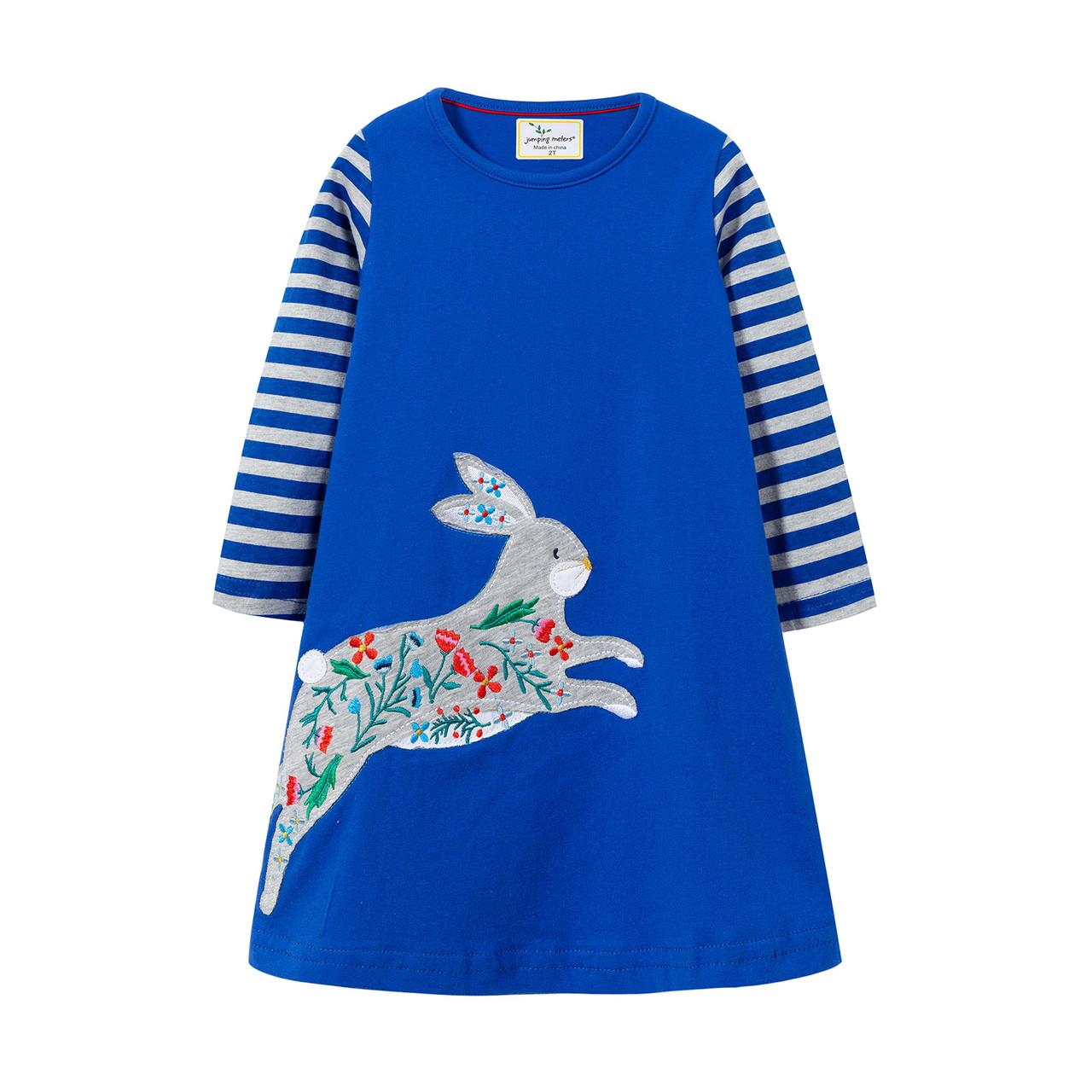 Платье для девочки Кролик Jumping Meters