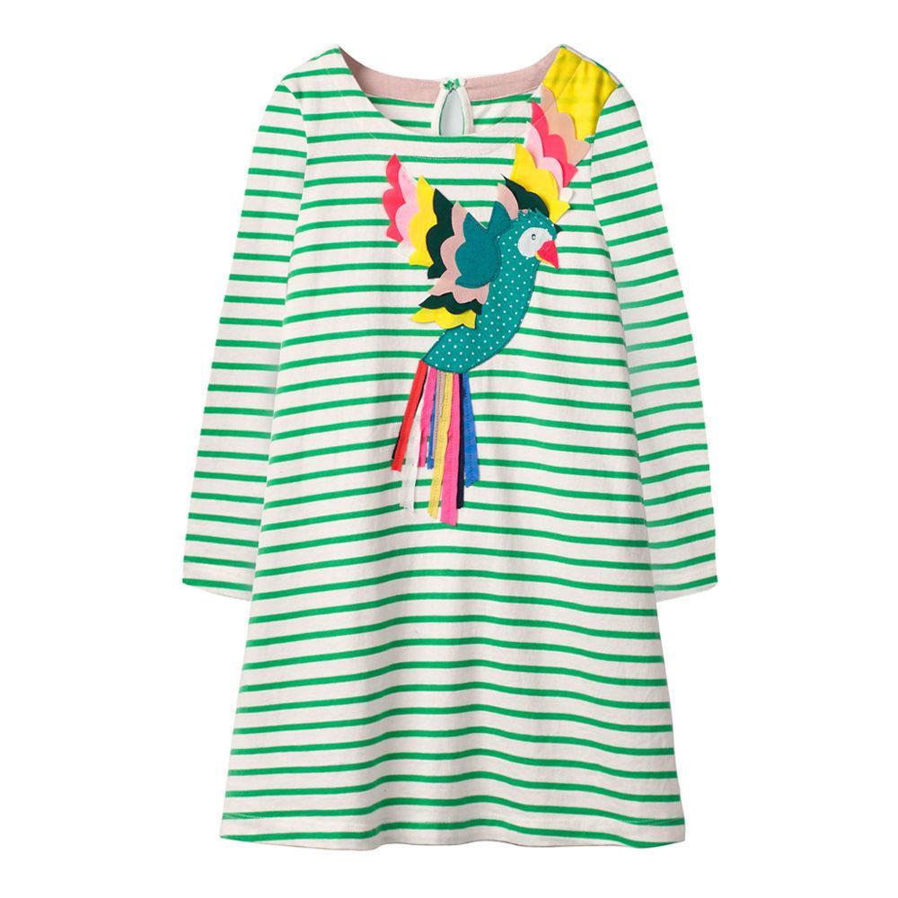 Платье для девочки Попугай Jumping Meters