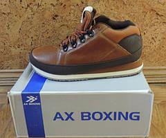 Кроссовки ботинки мужские демисезонные AX BOXING. Фирменная мужская обувь.