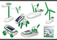Конструктор-робот 6 в 1 на солнечной батарее Robot Kits