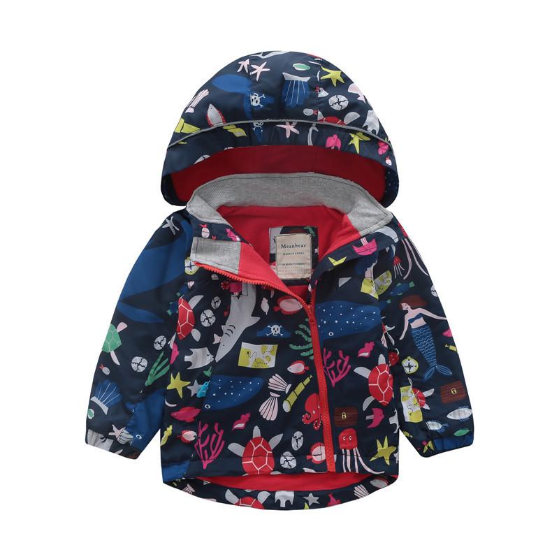 Куртка для девочки Море Meanbear
